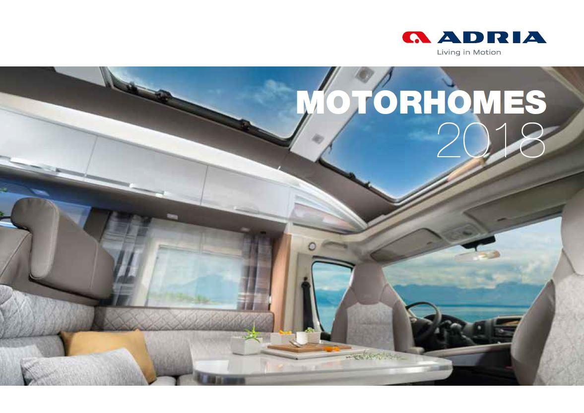 Adria 2018 Brochure
