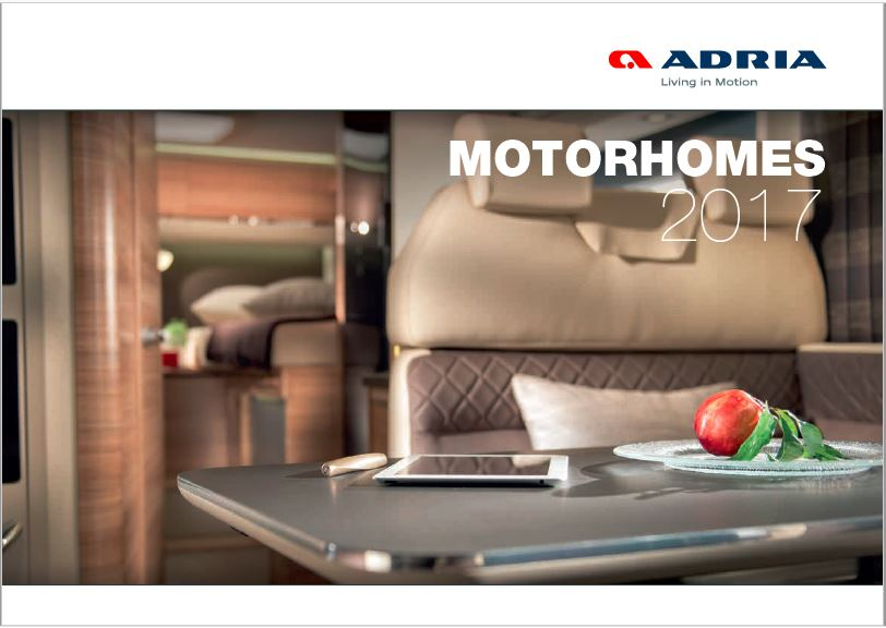 Adria 2017 Brochure