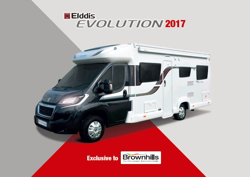 Elddis Evolution 2017 Brochure