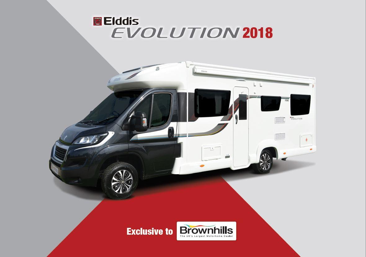 Elddis Evolution 2018 Brochure