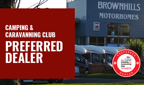 Camping & Caravanning Club preferred dealer