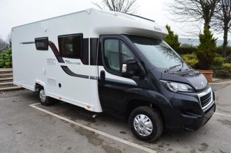 Peugeot Elddis Autoquest Evolution 155 130BHP