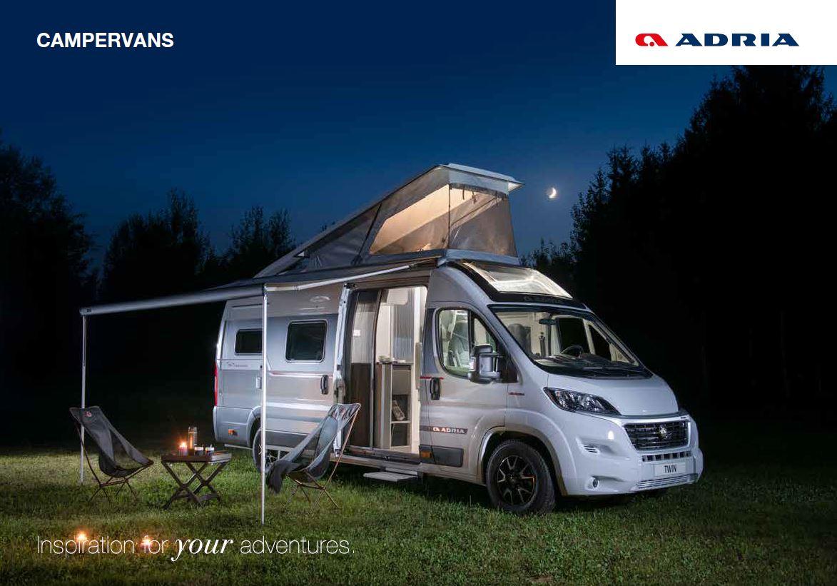 Adria 2022 Campervan Brochure