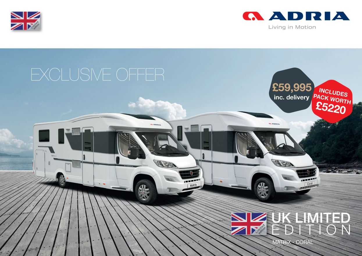 Adria Limited Edition 2019 Brochure