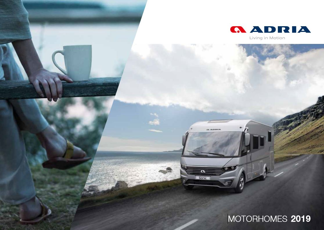 Adria Motorhome 2019 Brochure