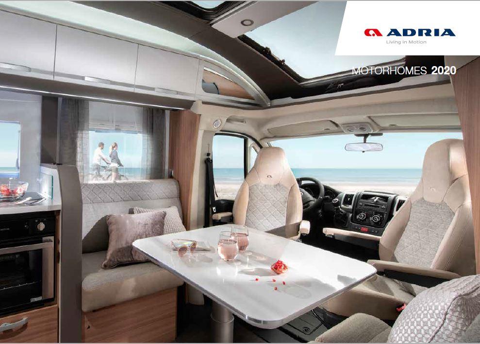 Adria 2020 Motorhome Brochure