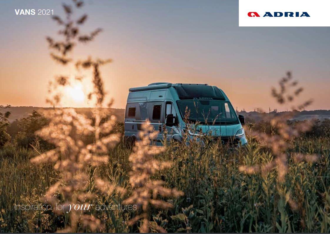 Adria 2021 Van Brochure