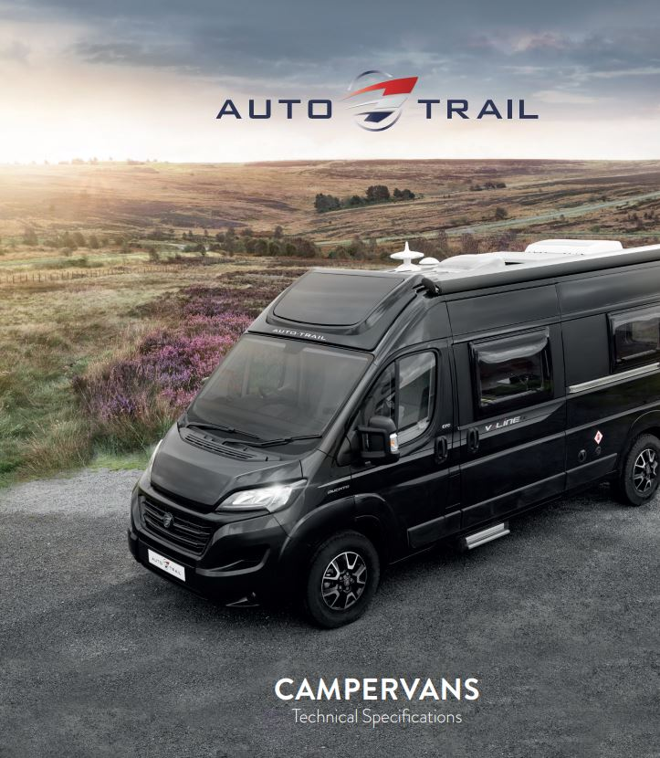 Auto-Trail Campervan 2021 Technical Specification