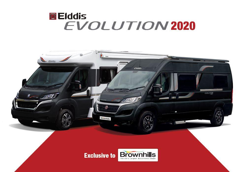 Elddis Evolution 2020 Brochure