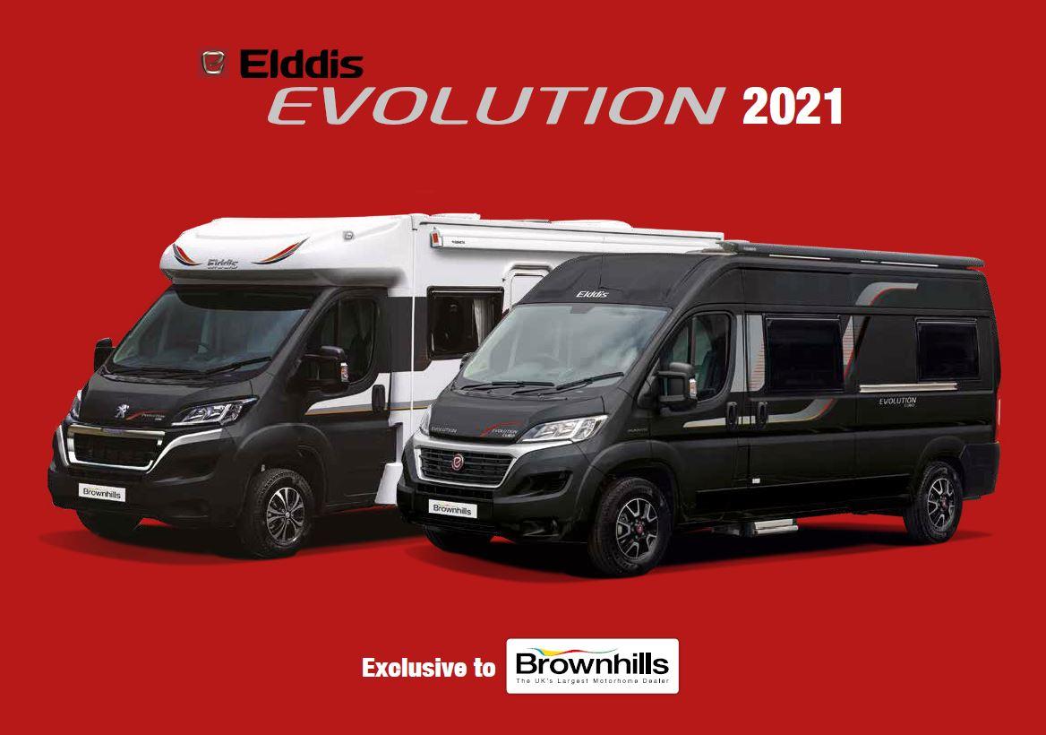 Elddis Evolution 2021 Brochure