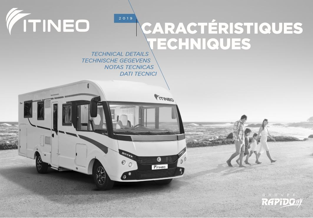 Itineo A Class 2019 Technical Brochure