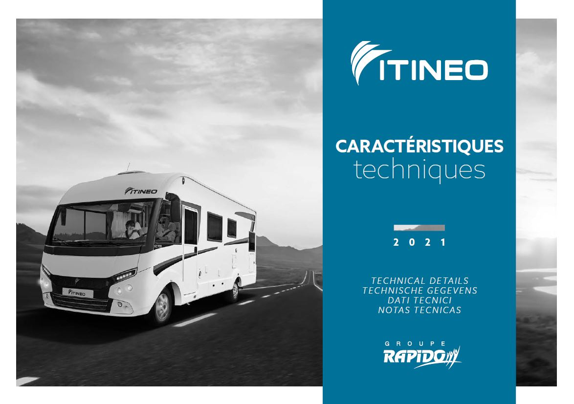 Itineo 2021 A Class Technical Guide