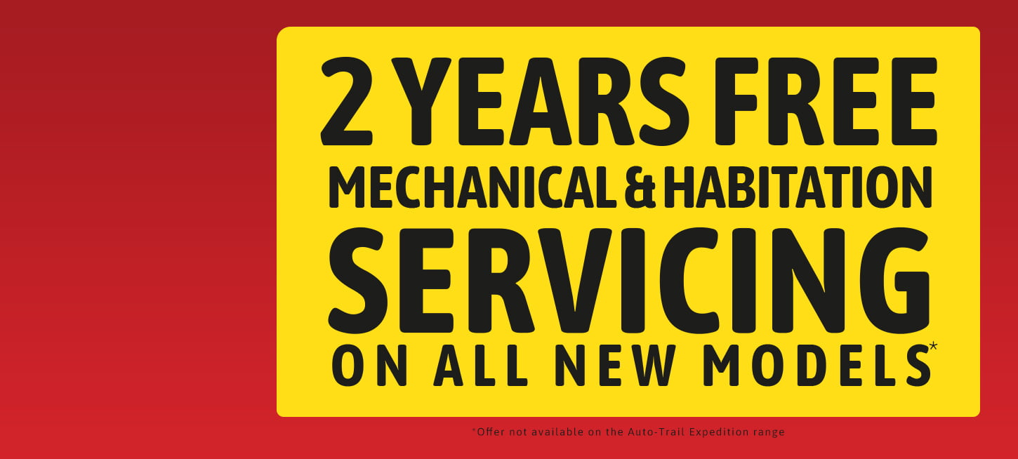 2 Years Free Servicing