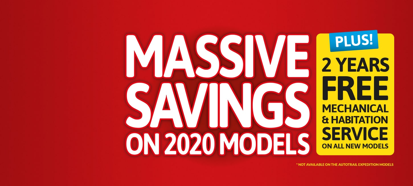 Massive Savings on New
