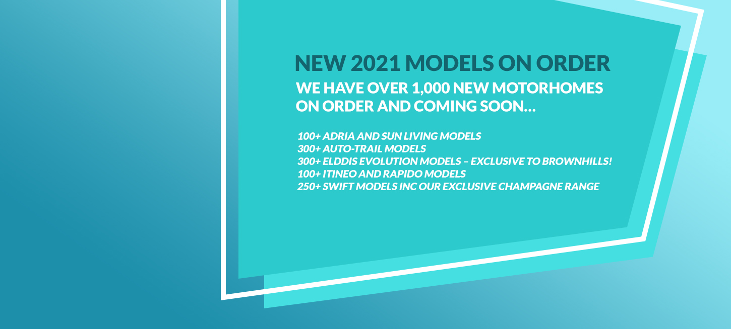 New 2021 Models On Order