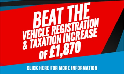 Beat the Vehicle Registration and Taxation Increase