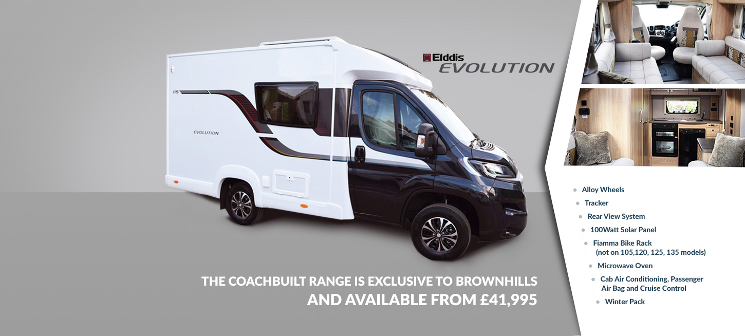 Motorhomes For Sale | New and Used Motorhomes | Brownhills