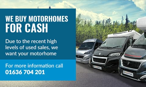 We buy motorhomes for cash